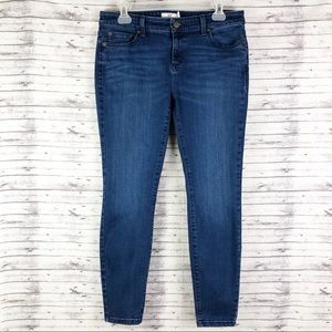 Vineyard Vines Skinny Cropped Ankle Jeans Size 10